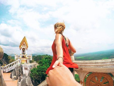 Climb the 1237 steps of the Tiger Cave Temple
