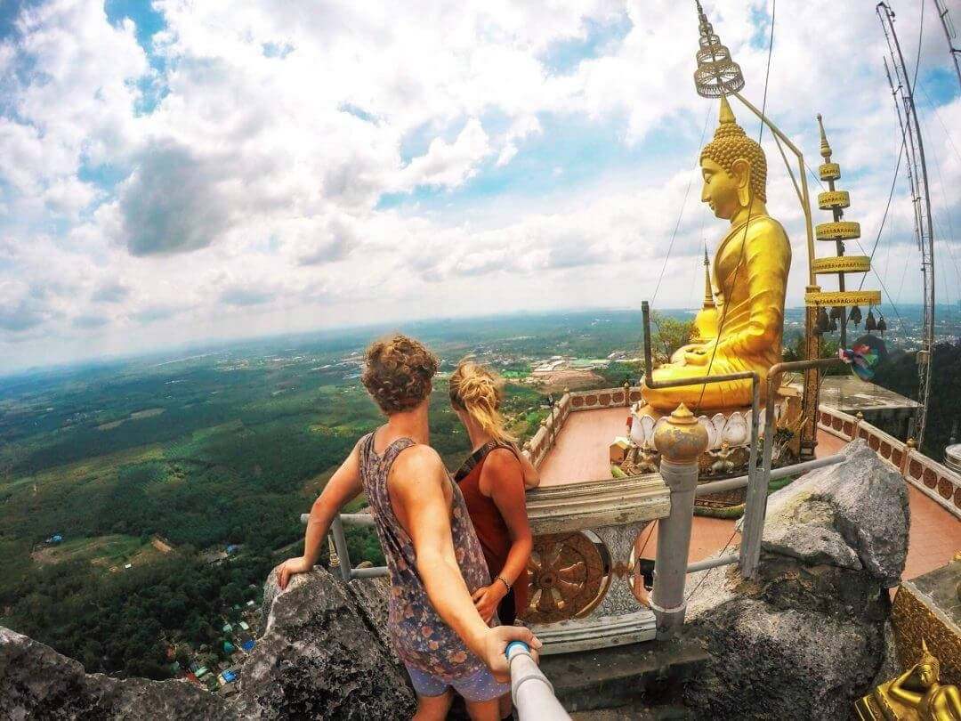 Tiger cave temple thailand view budha