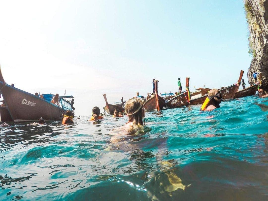 koh lanta 4island tour snorkeling