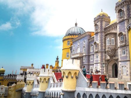 Sintra, the Magical City near Lisbon, Portugal