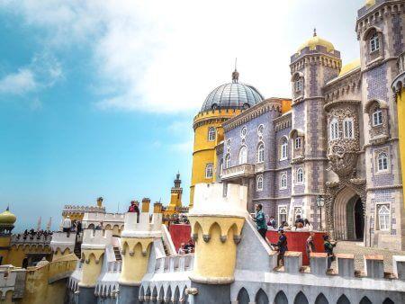 Sintra, the Magical City near Lisbon, Portugal
