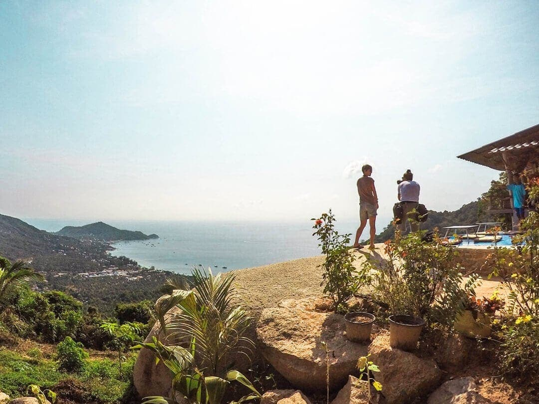thailand koh tao mango viewpoint view