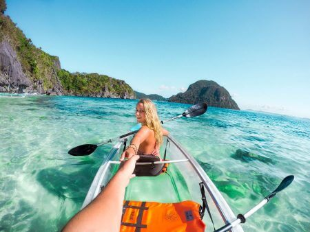 Explore islands around El Nido by Clear Kayak