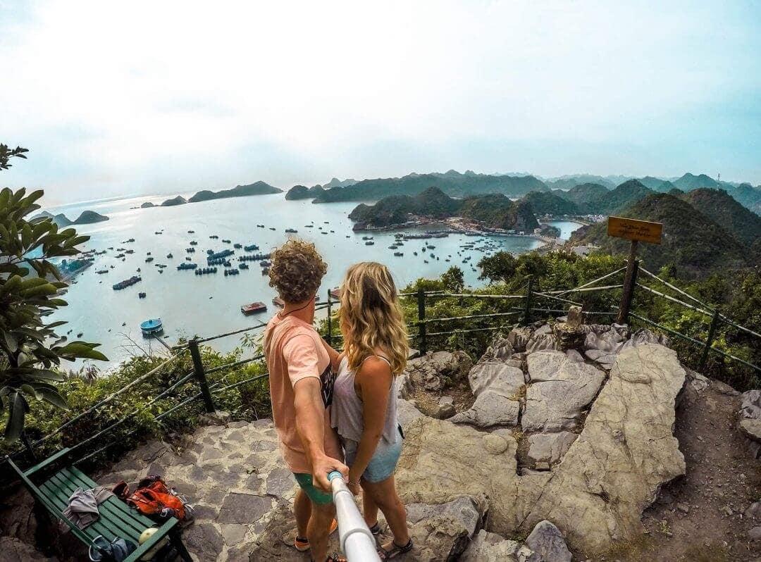 cat ba vietnam view travel