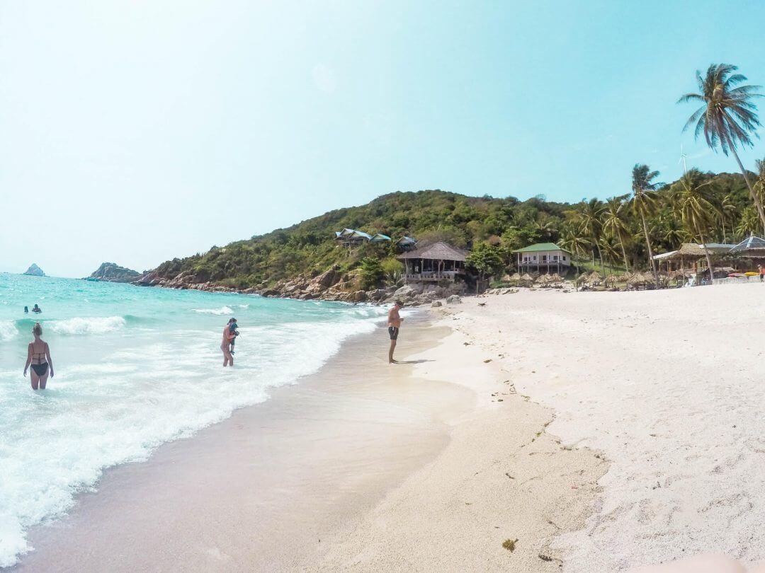 koh tao beaches aow leuk beach