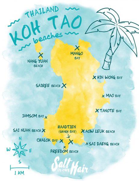 Koh Tao Beaches The 13 Most Beautiful Beaches Of Koh Tao