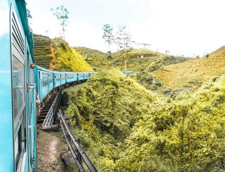 Sri Lanka Train: One of the World's Most Beautiful Train Rides