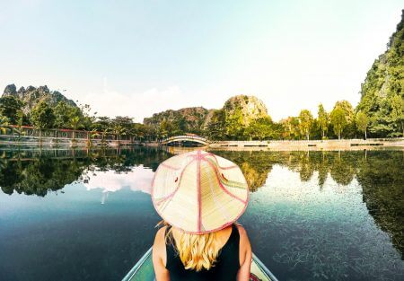 Tam Coc, Halong Bay's magic between the rice fields