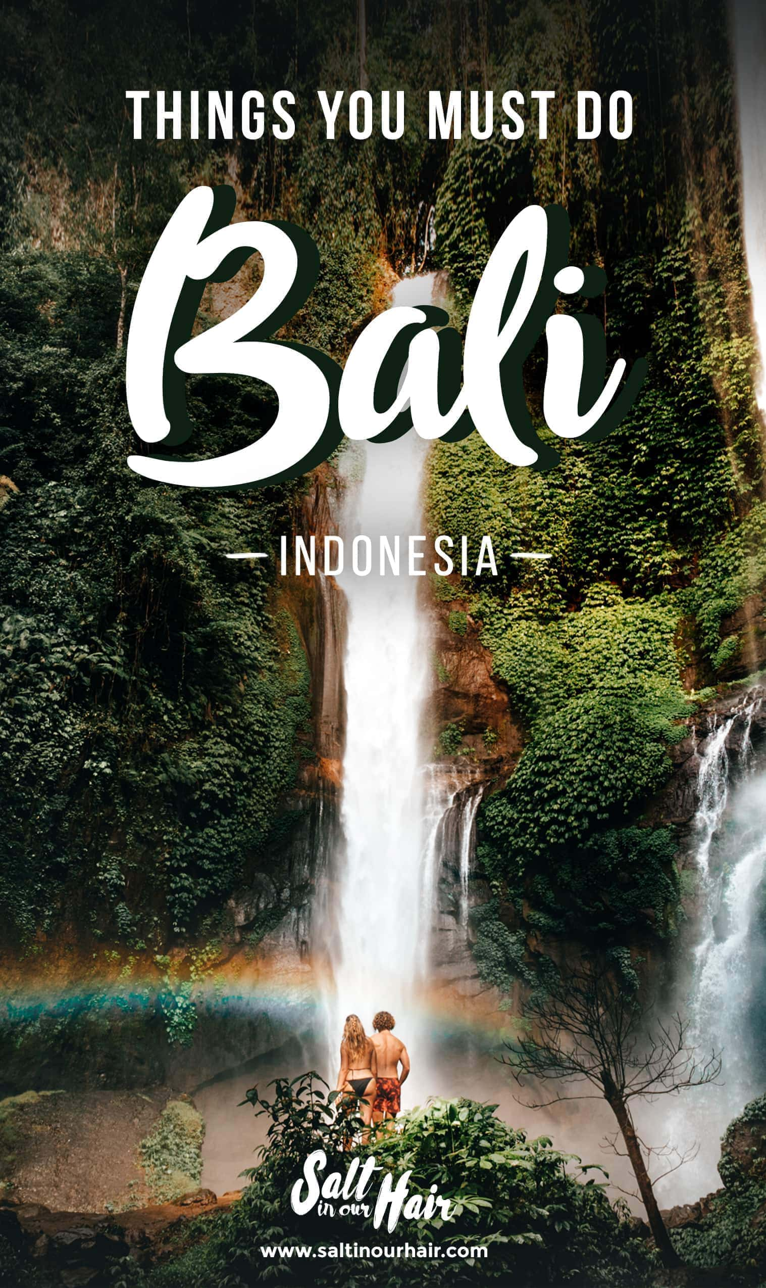 Must Do: 12 Things You MUST Do Bali, Indonesia