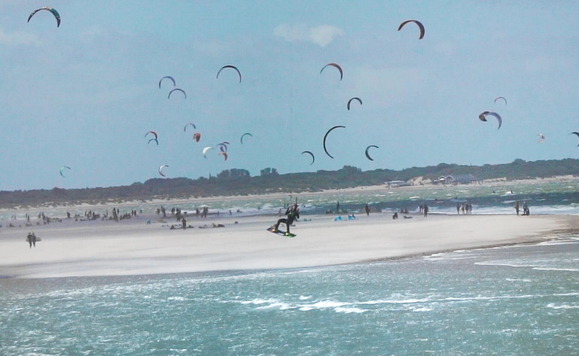 KiteSurf Beach Netherlands Goeree Overflakkee