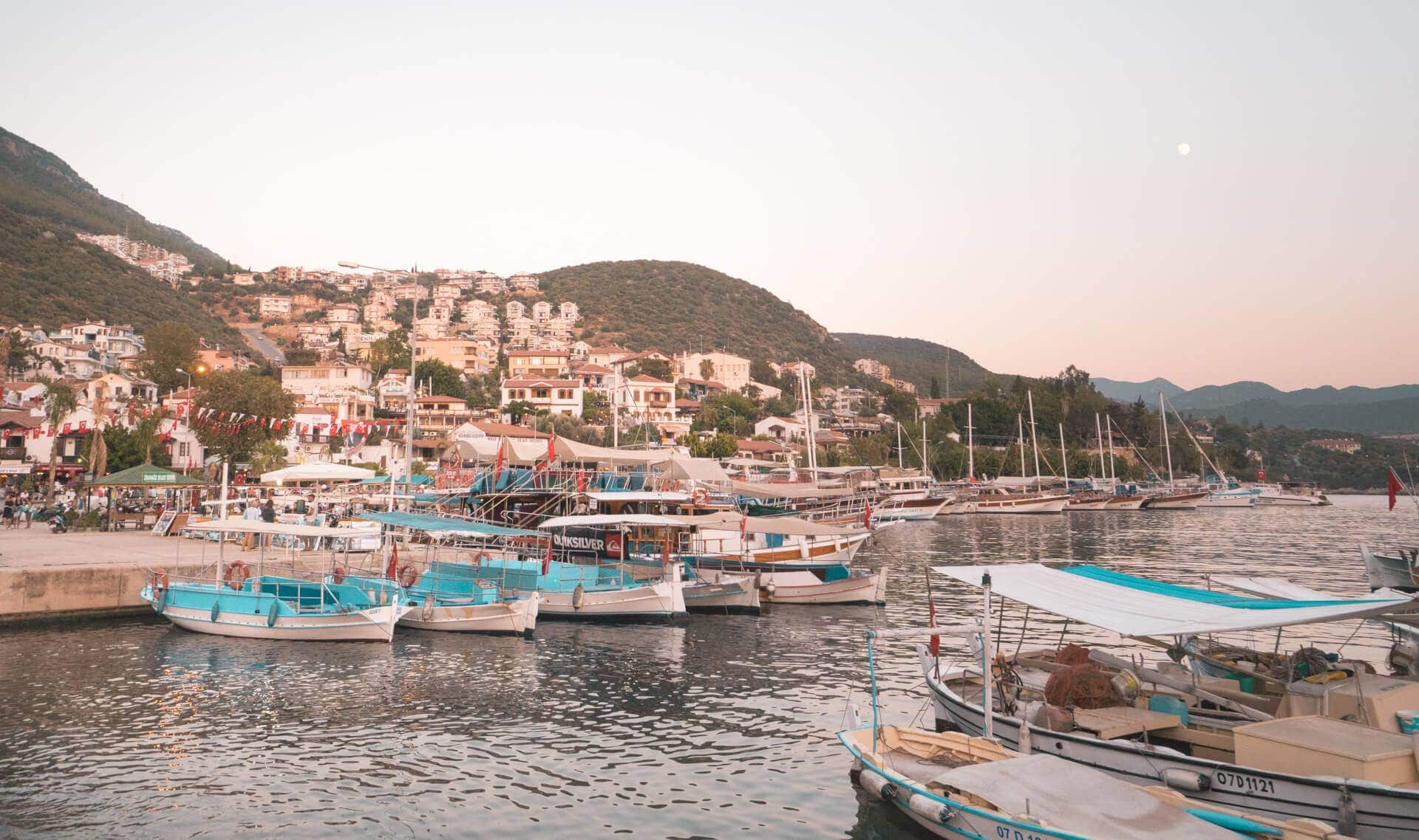 things to do Kas boat to greece