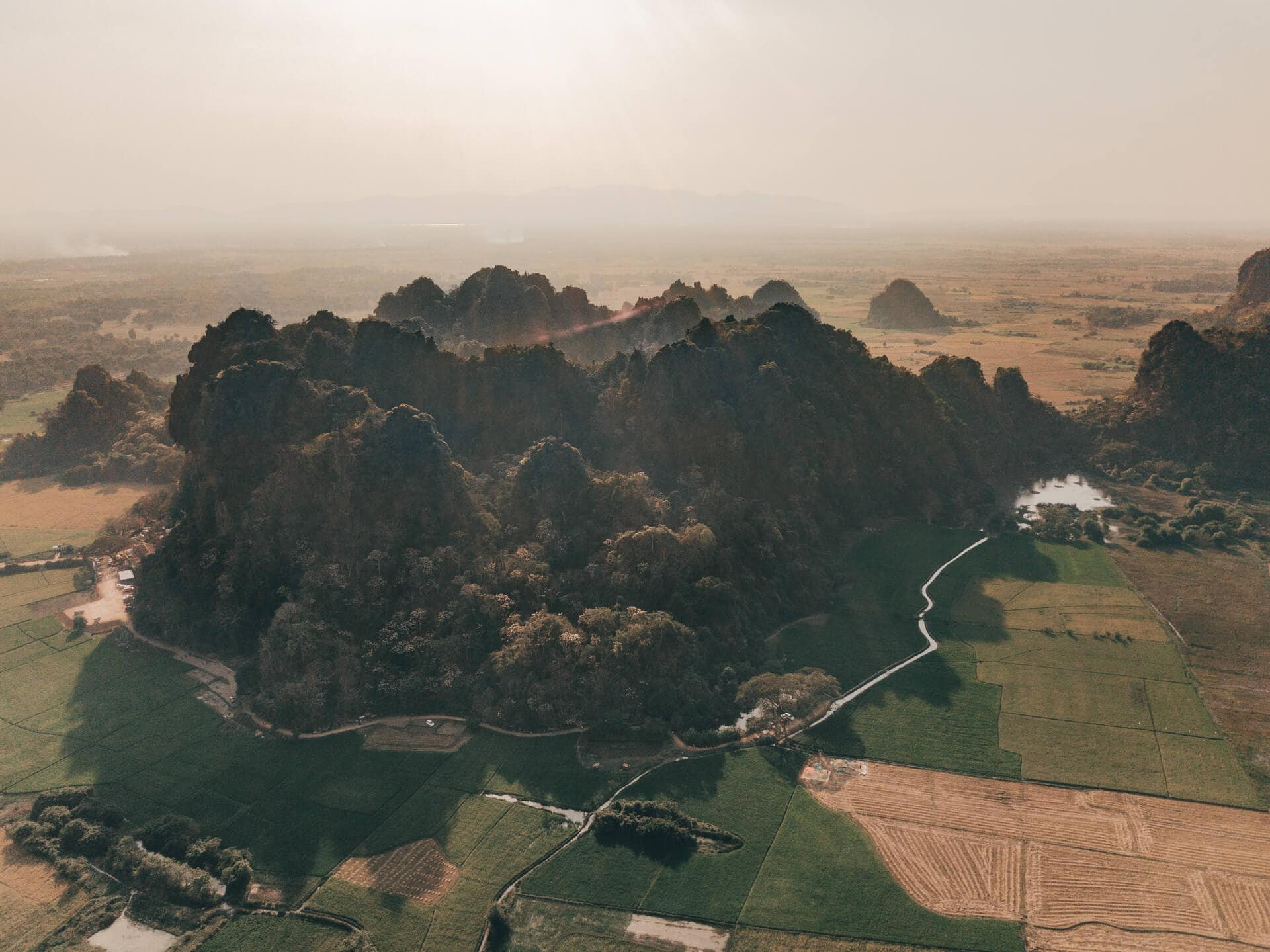things to do Hpa An myanmar Saddar cave drone