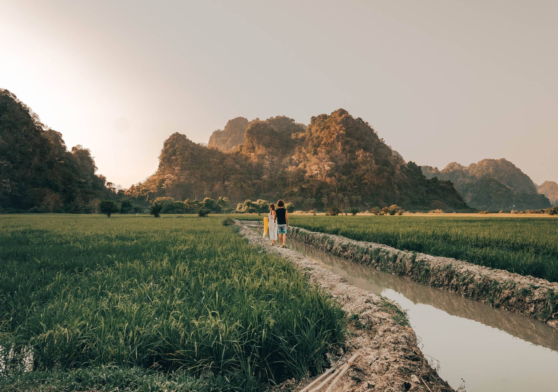 things to do Hpa An myanmar rice fields