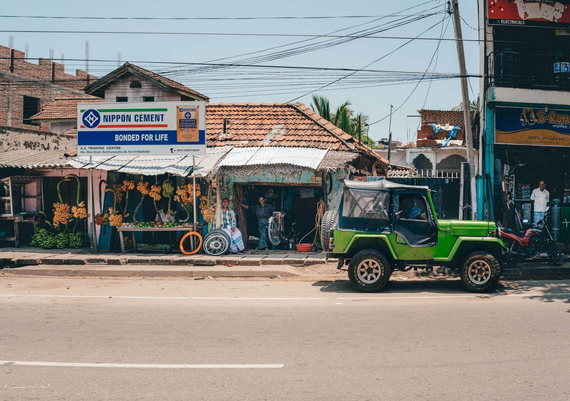 road trip east coast sri lanka city