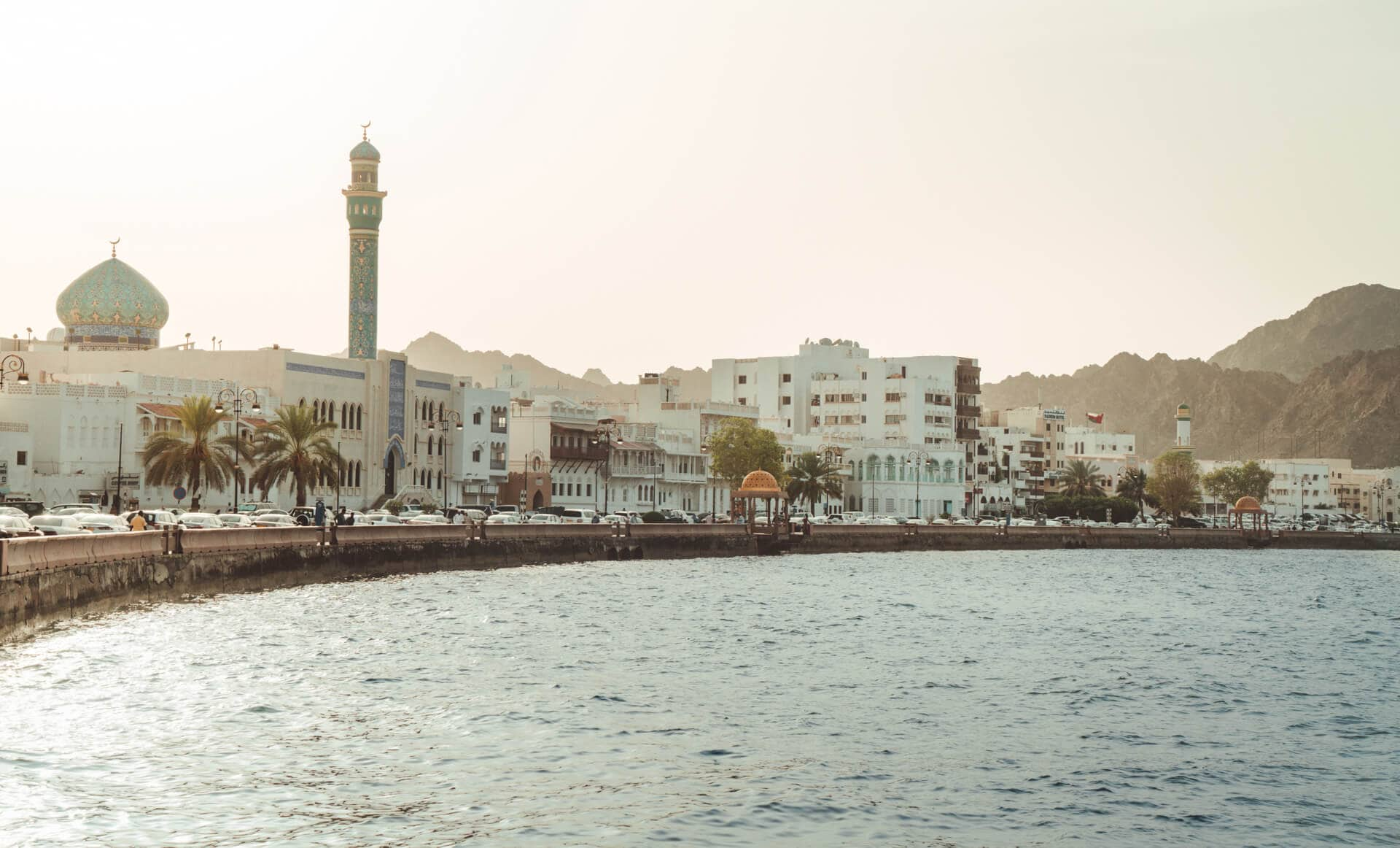 oman route guide muscat city