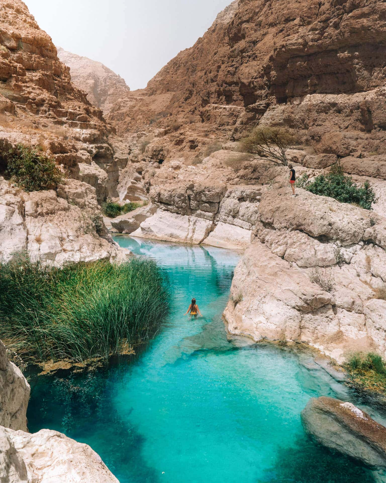 things to do in oman wadi shab