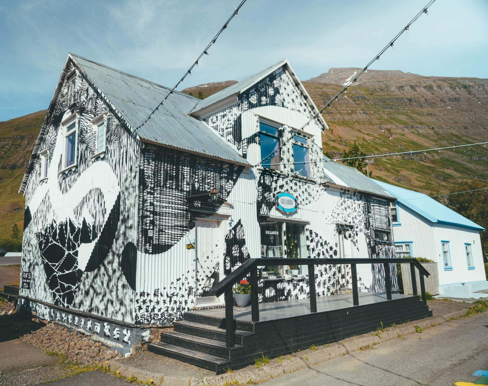 art village seydisfjordur iceland shop