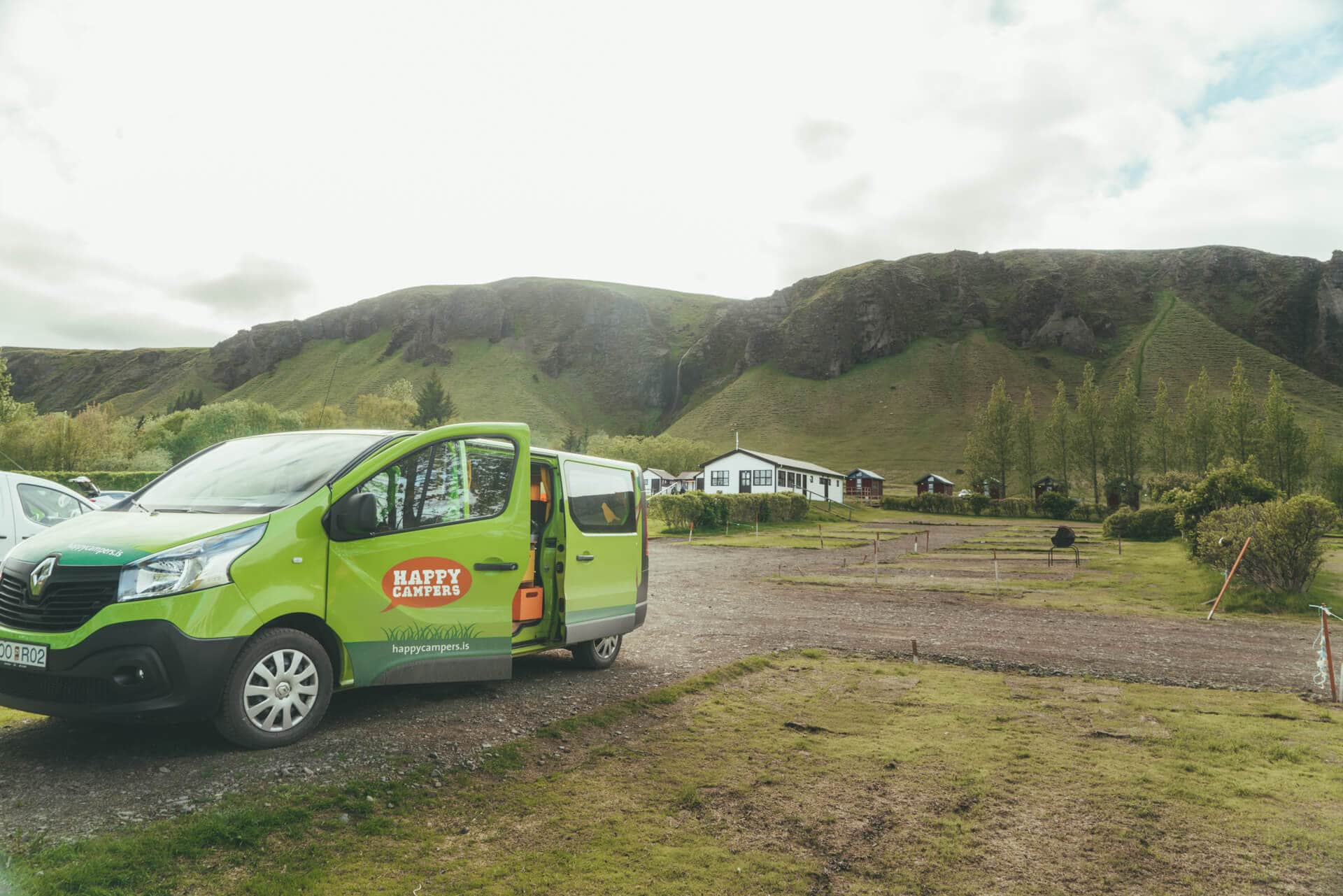 camping iceland campsites