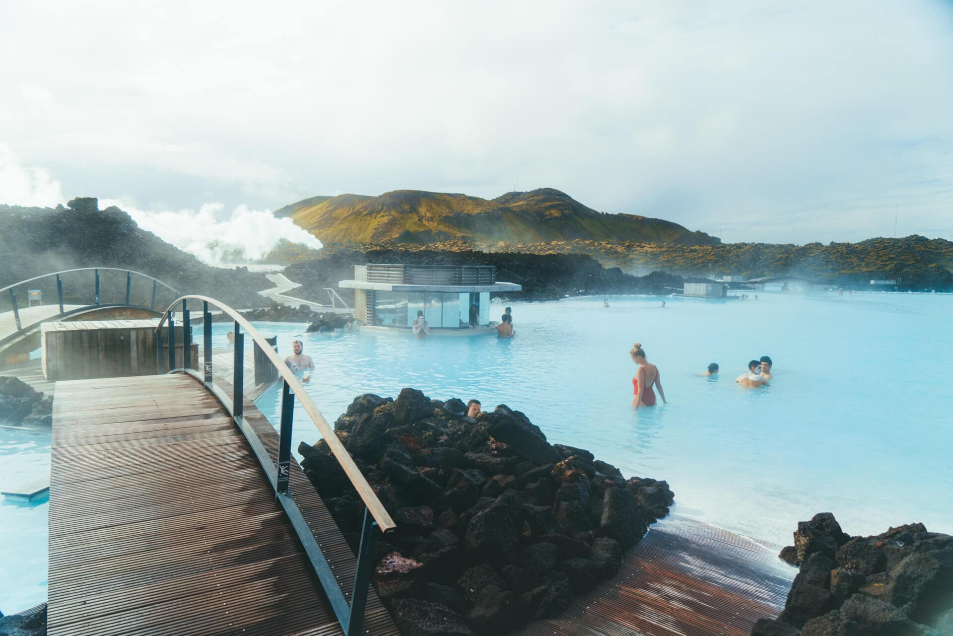 hot springs iceland blue lagoon pool