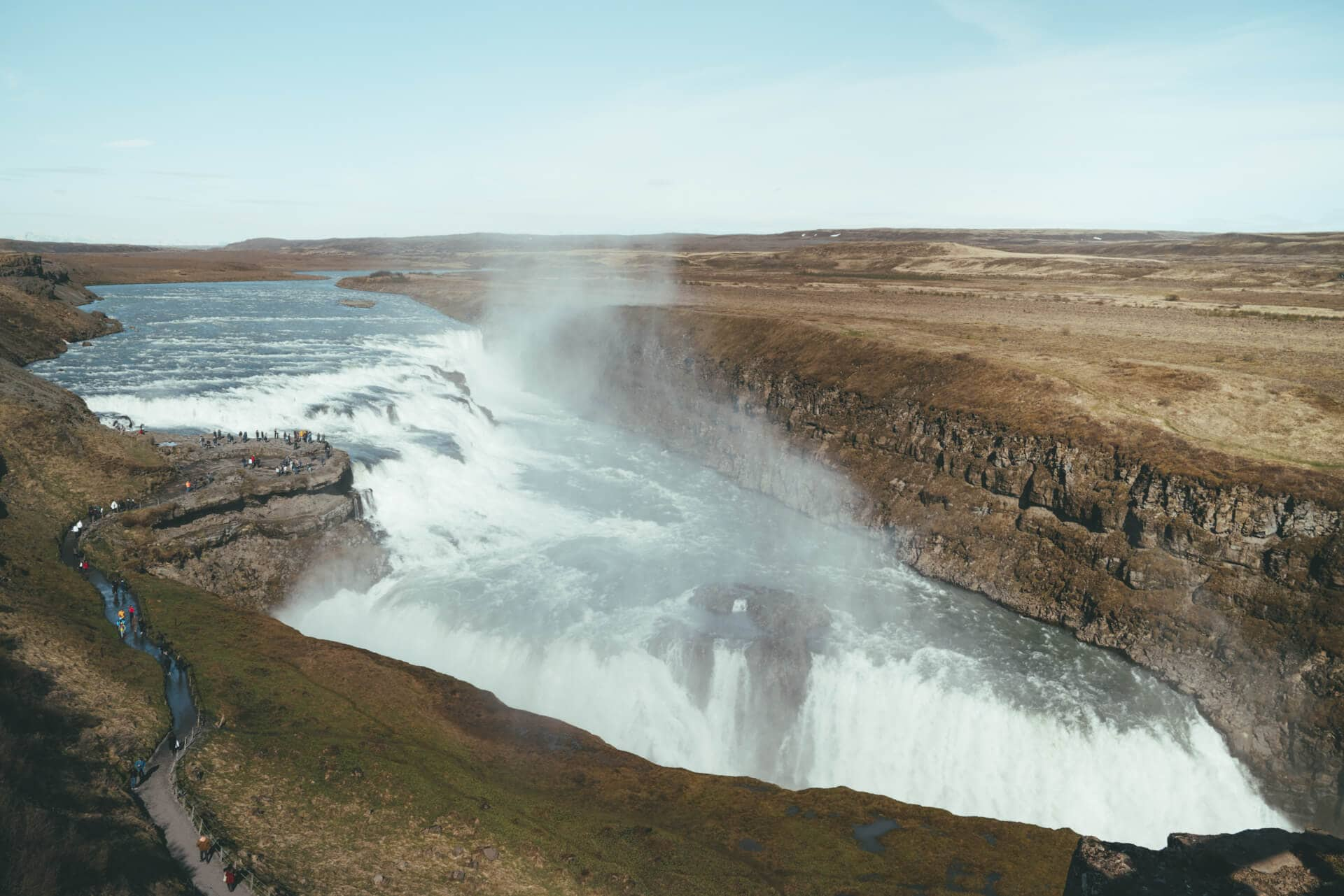 iceland route guide gullfoss