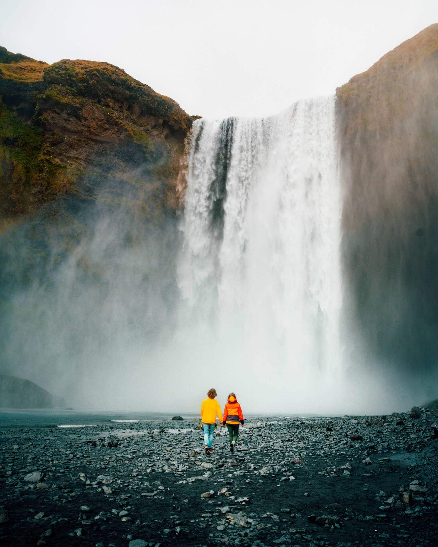 iceland route guide skogafoss