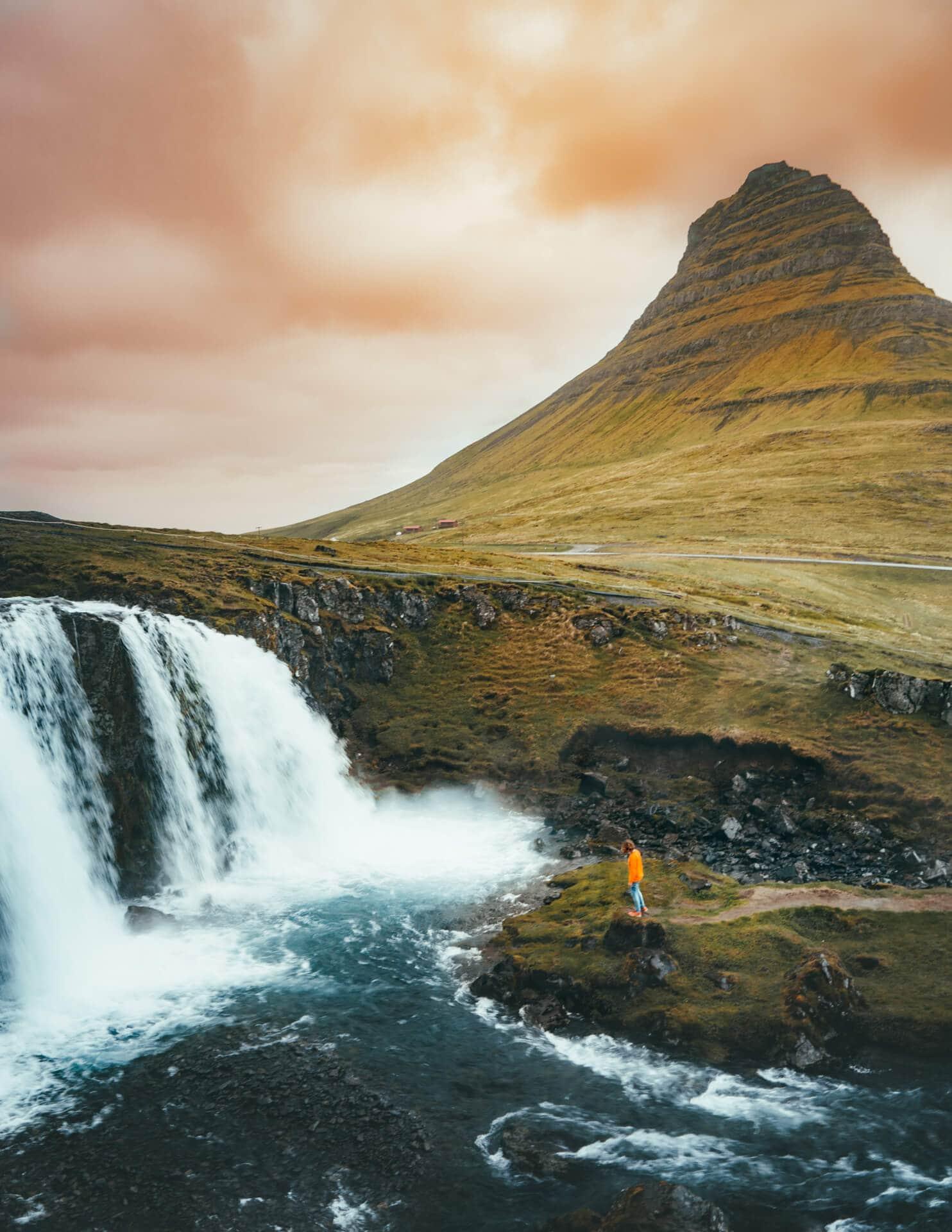 iceland route guide waterfalls Kirkjufell
