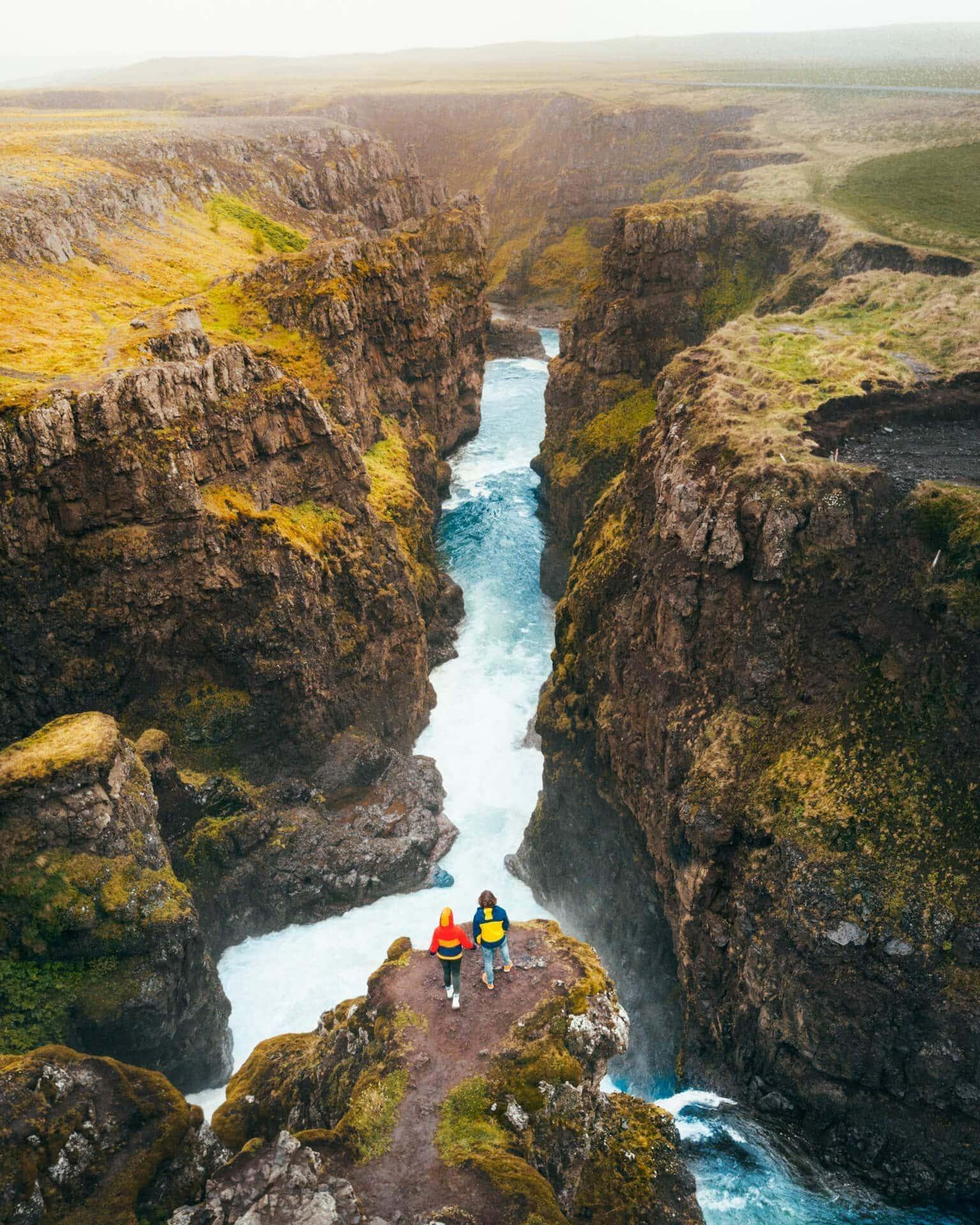 things to do iceland kolugljufur canyon