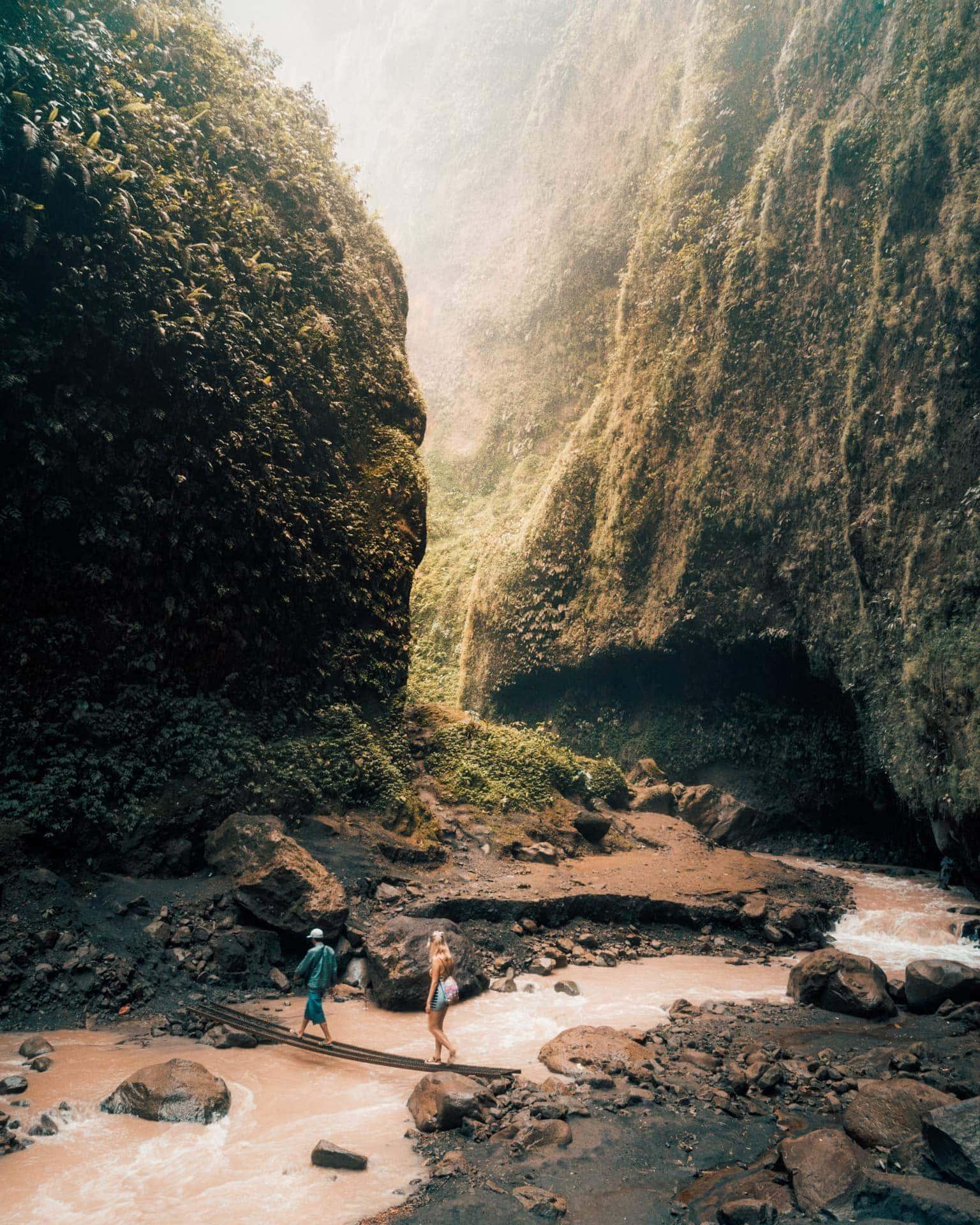tumpak sewu best waterfall indonesia java down
