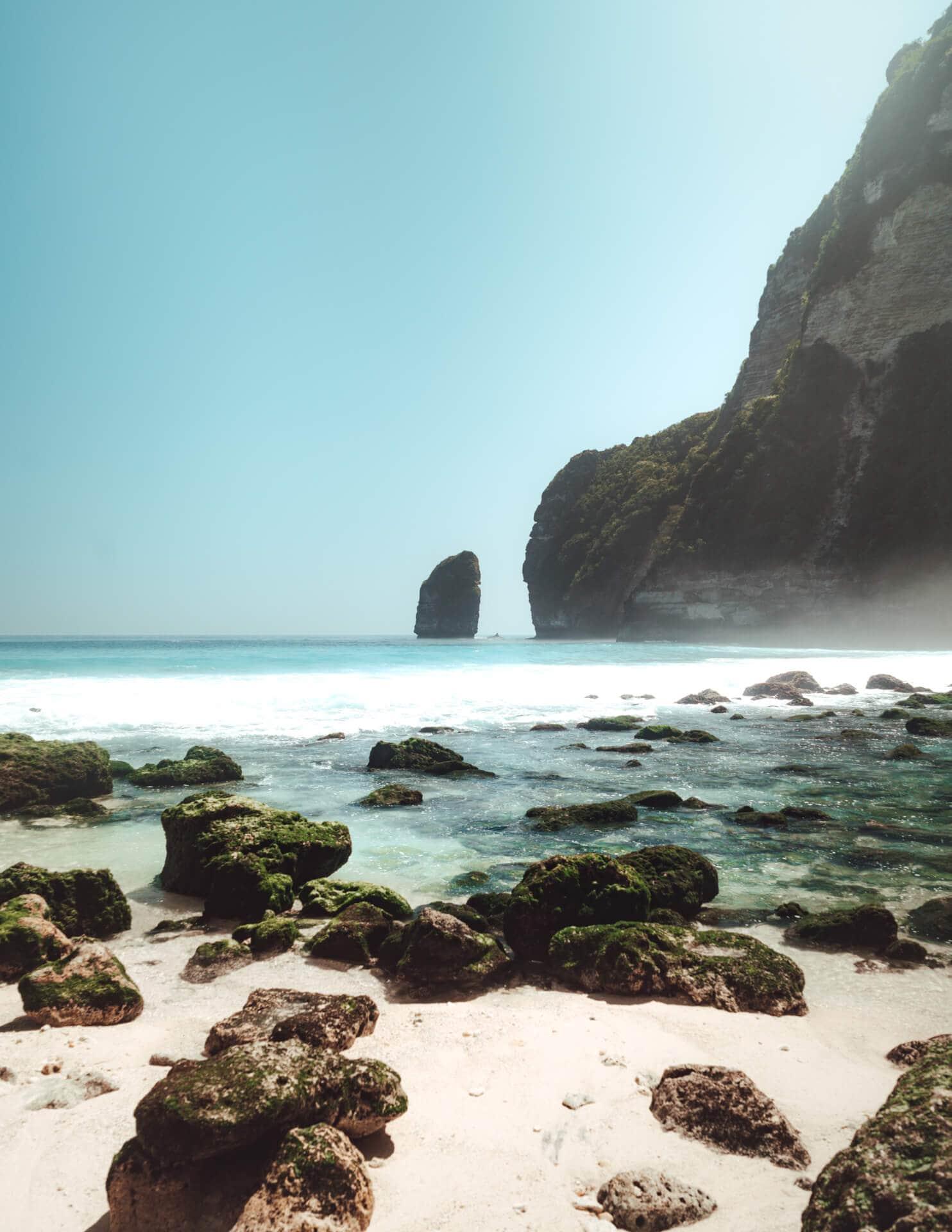Nusa Penida trip Tembeling beach