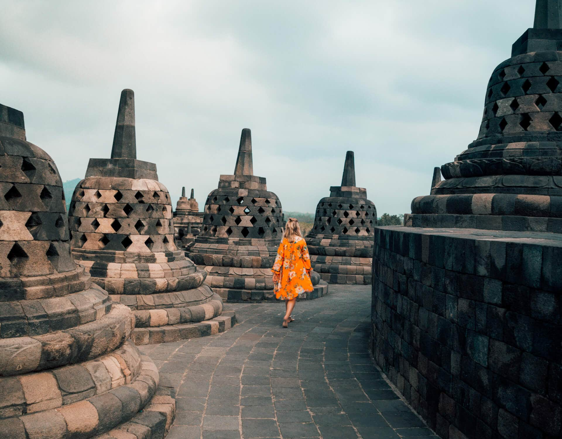 central east java route guide borobudur