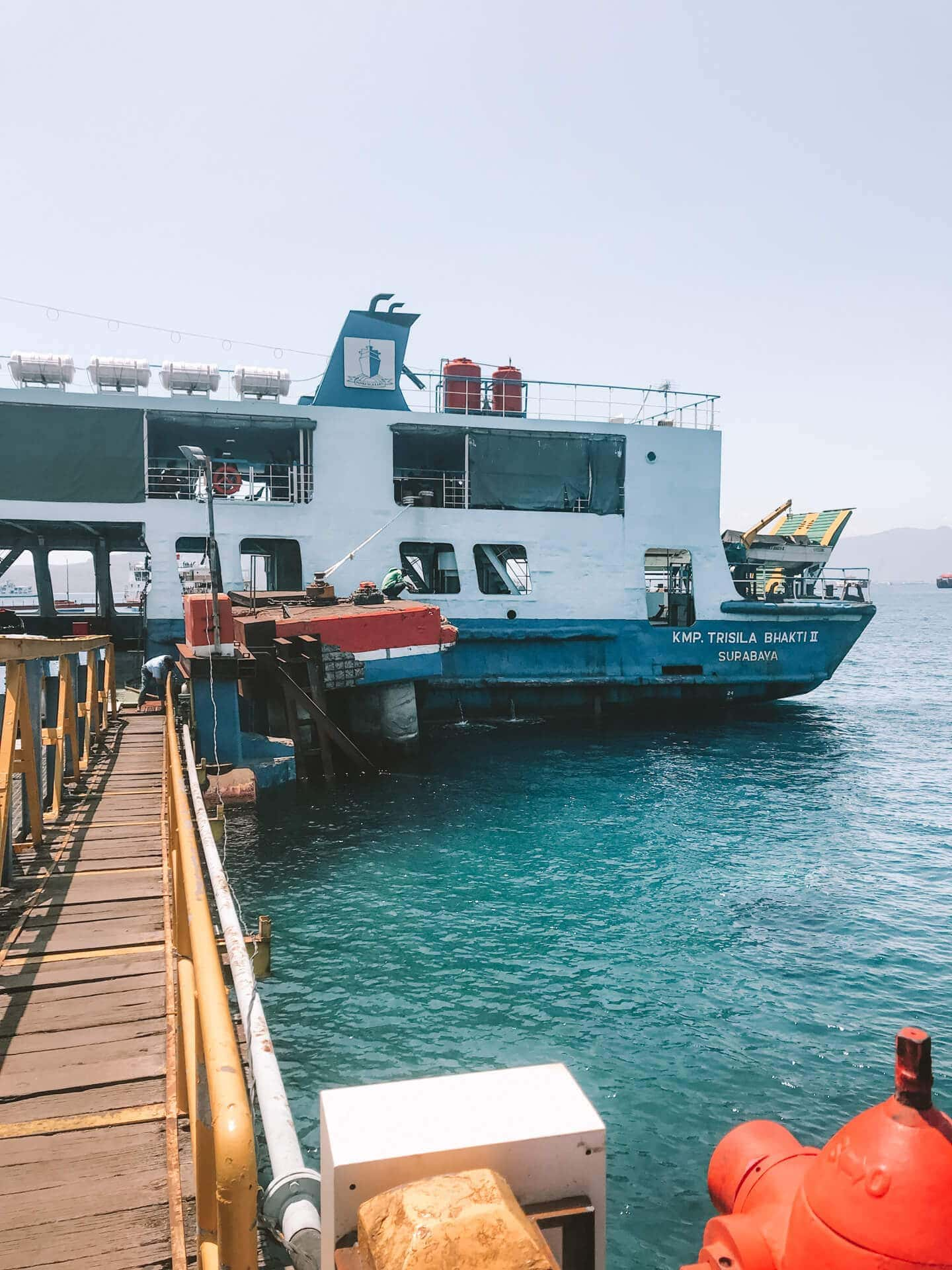 central east java route guide ferry bali