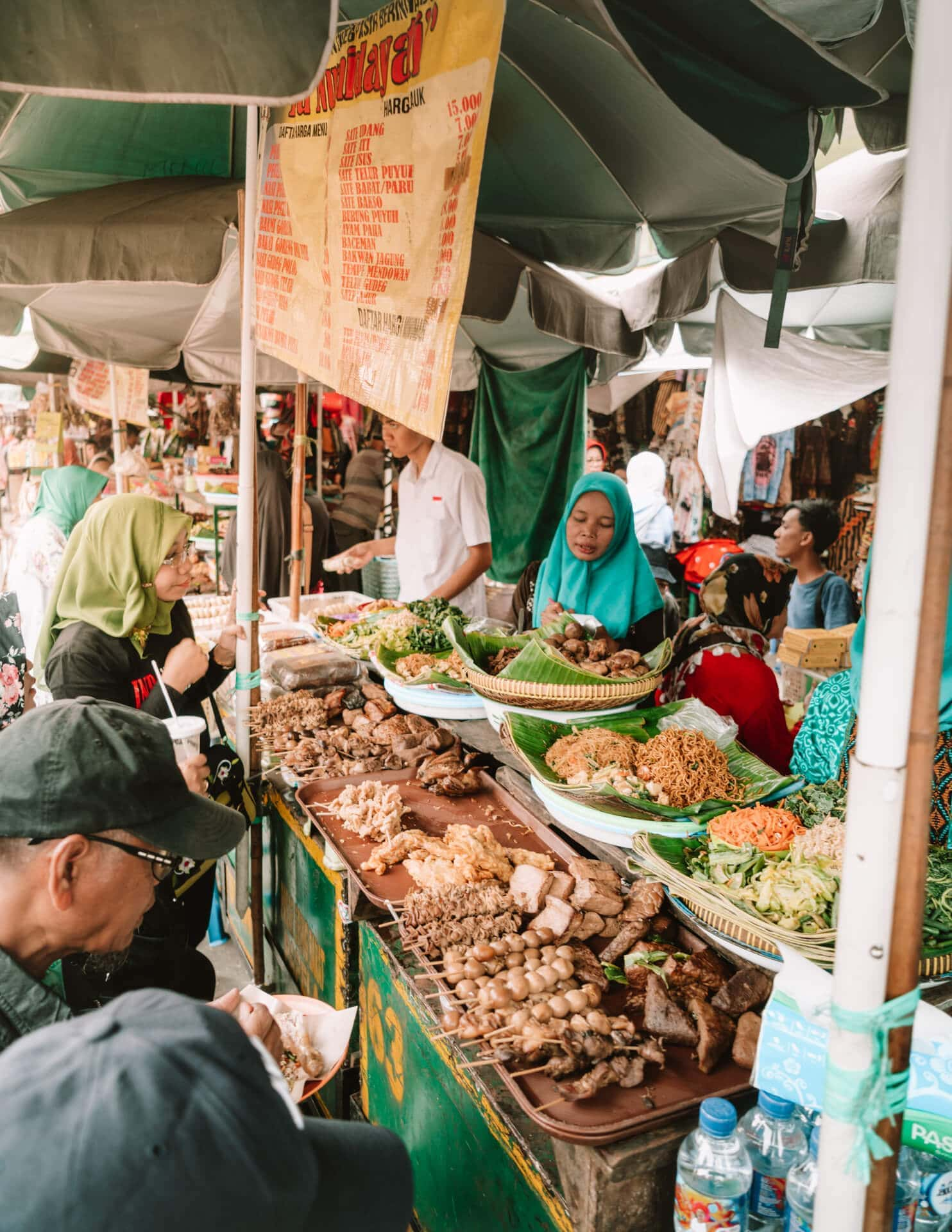 central east java route guide malioboro market