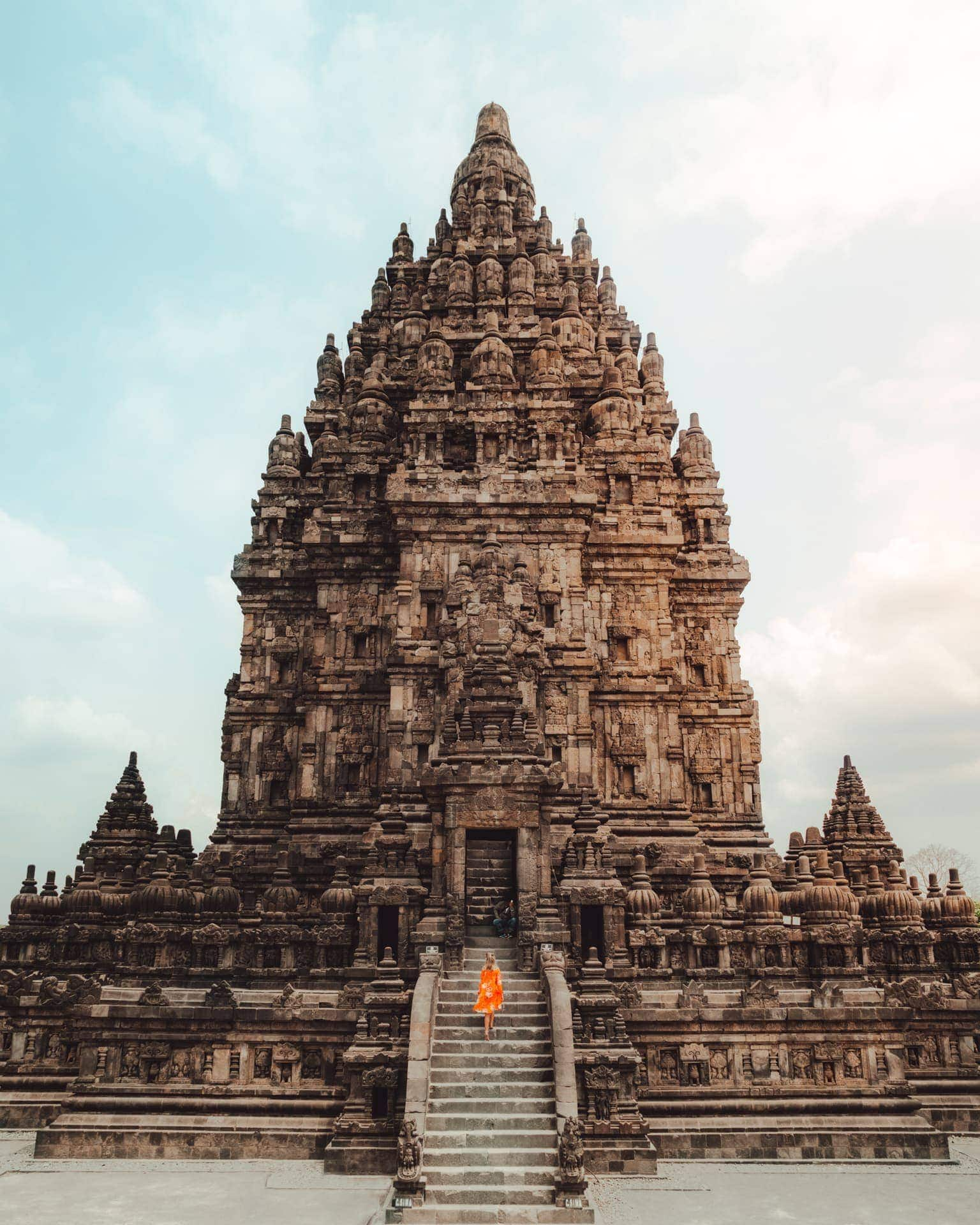 central east java route guide prambanan