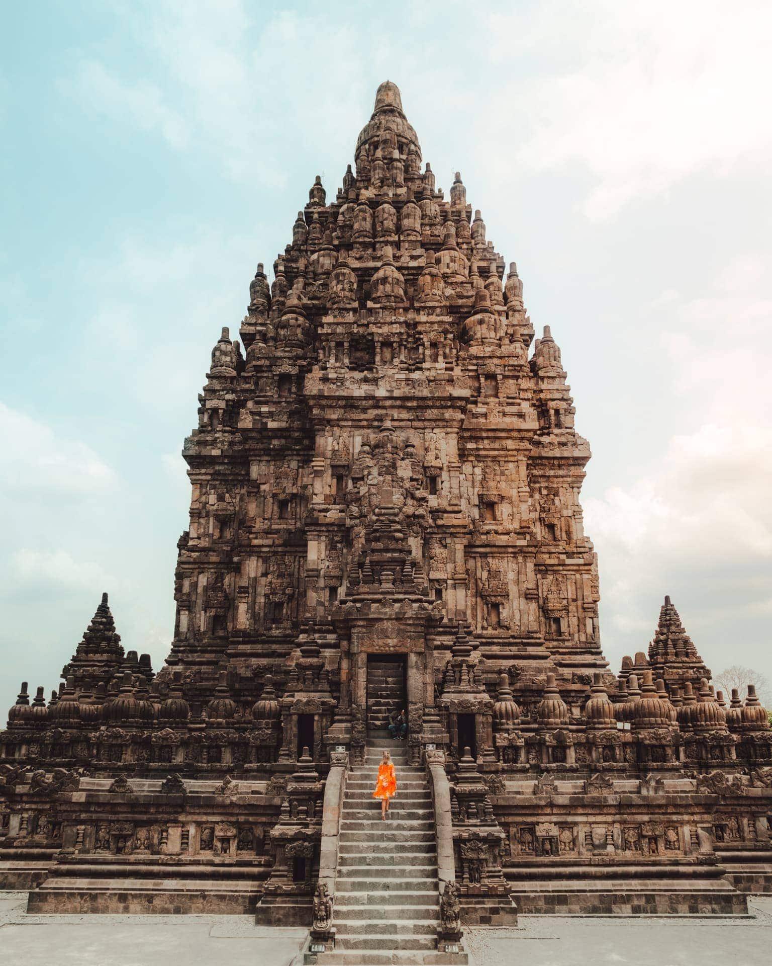 central east java route guide prambanan