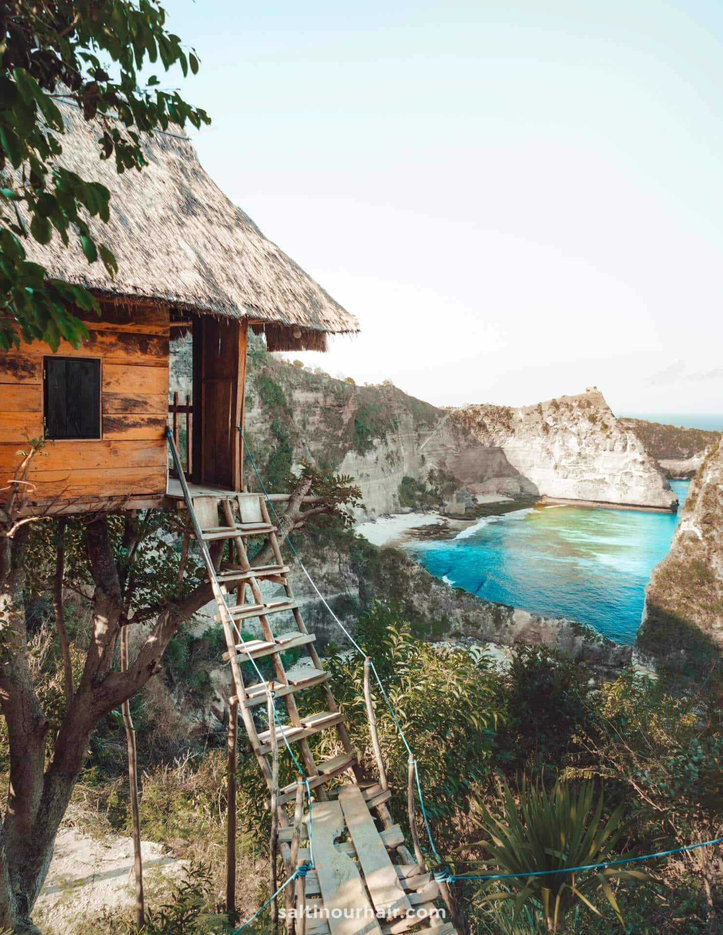 things to do nusa penida treehouse view