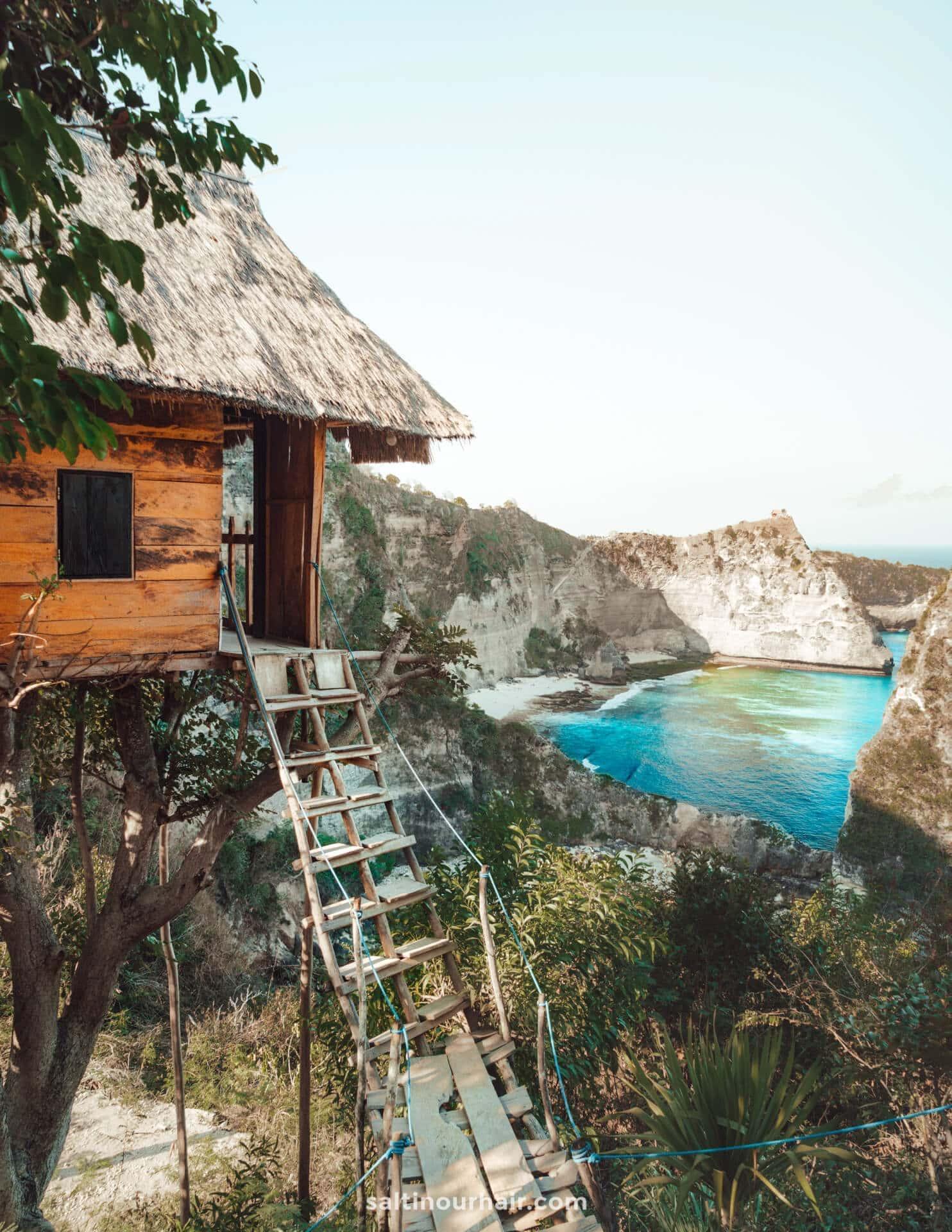 things to do nusa penida treehouse view