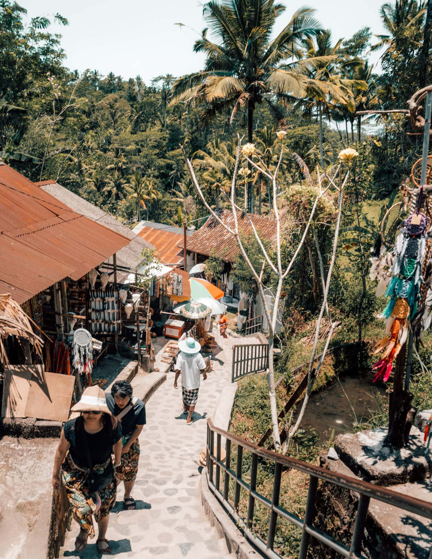 things to do ubud Pura Gunung Kawi stairs