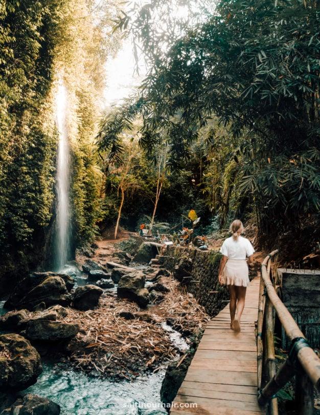 Tibumana Waterfall route