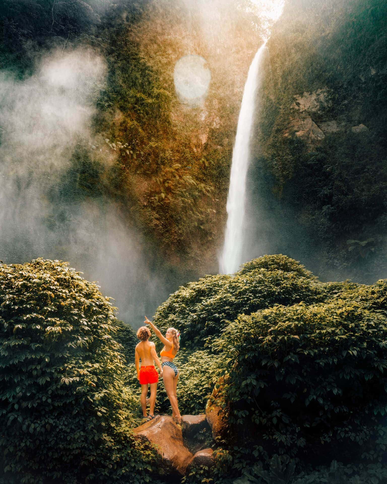 bromo ijen tour Coban Pelangi waterfall