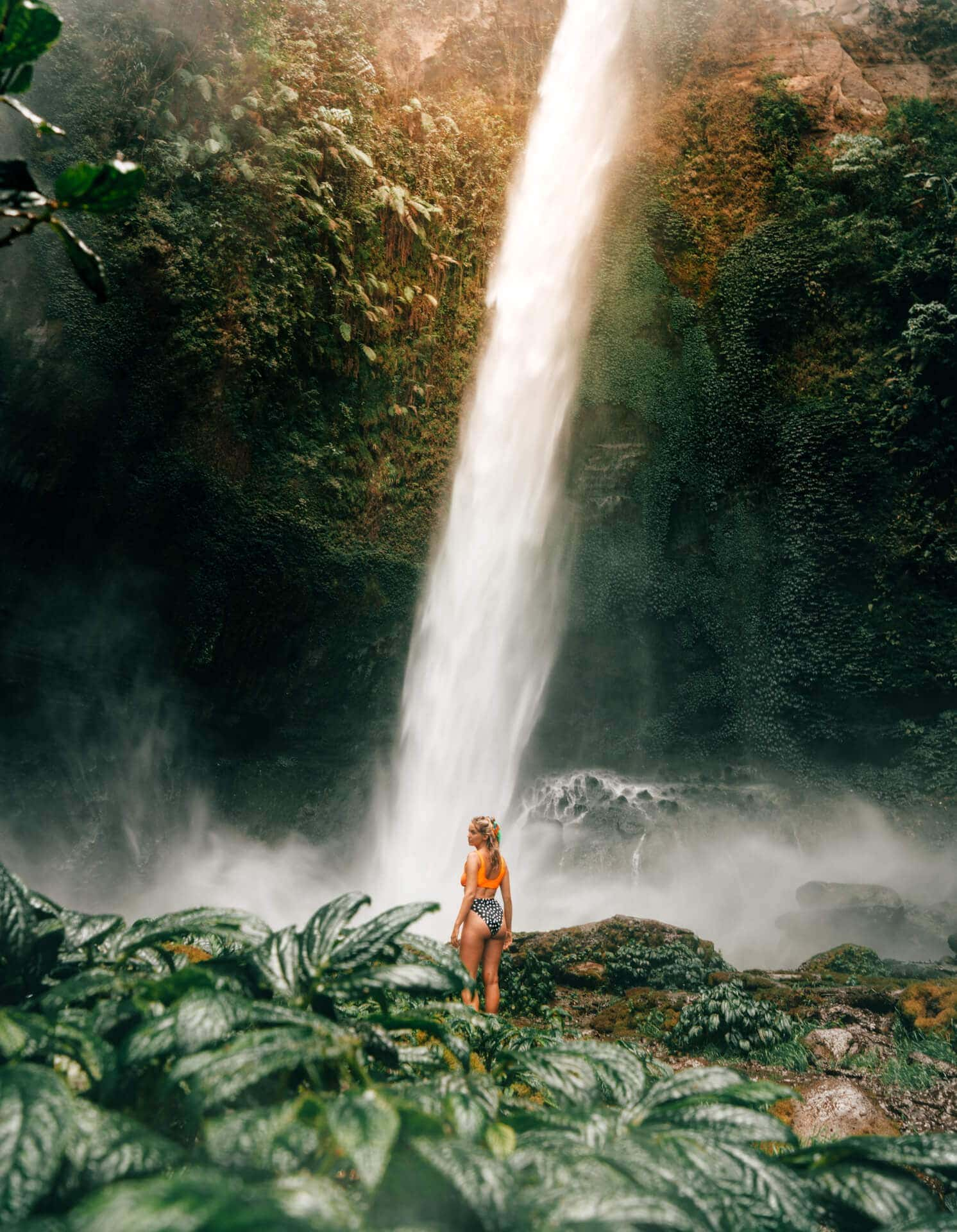 bromo ijen tour waterfall
