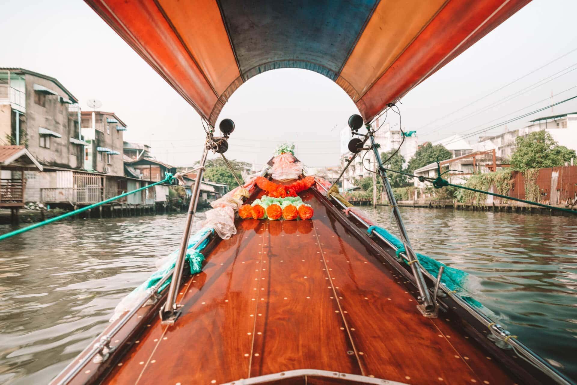 things to do bangkok canals