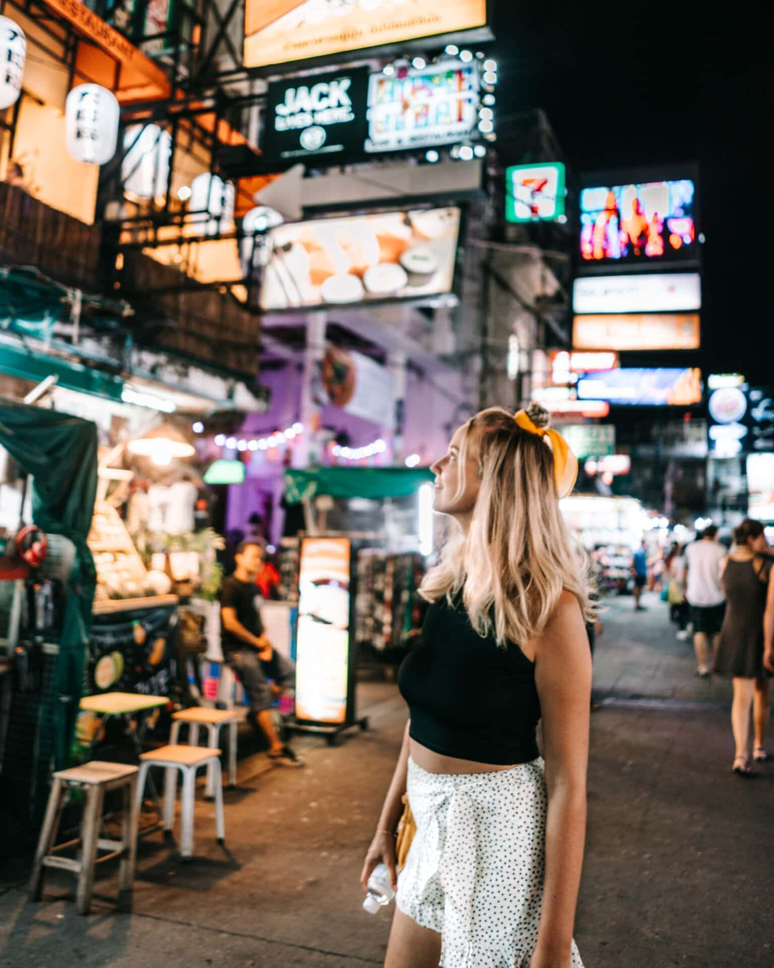 things to do bangkok khao san road night