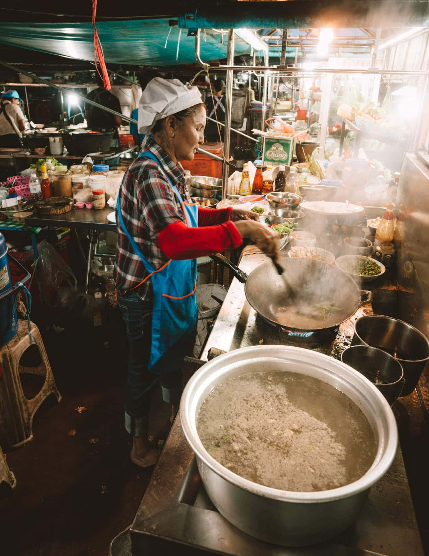 things to do bangkok local food