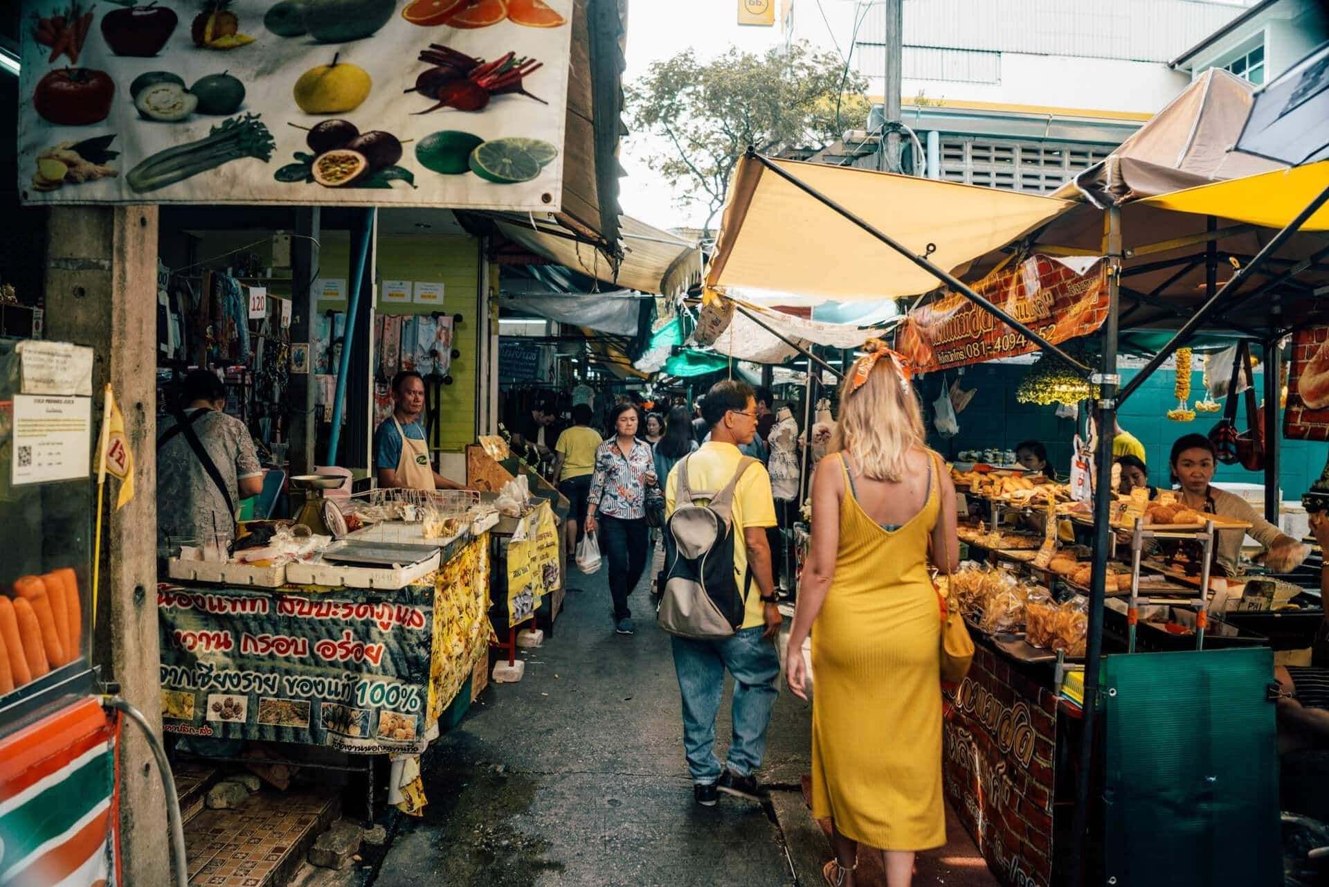 things to do bangkok market