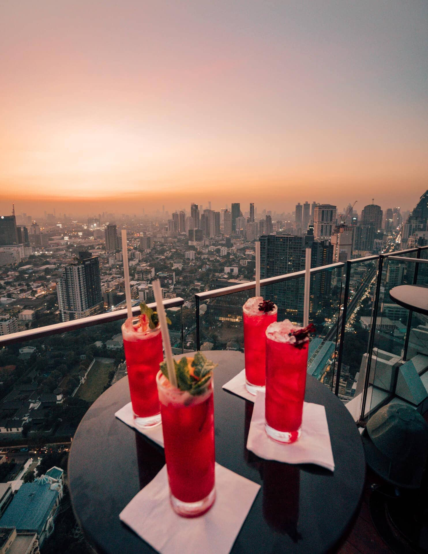 things to do bangkok rooftop bar drinks