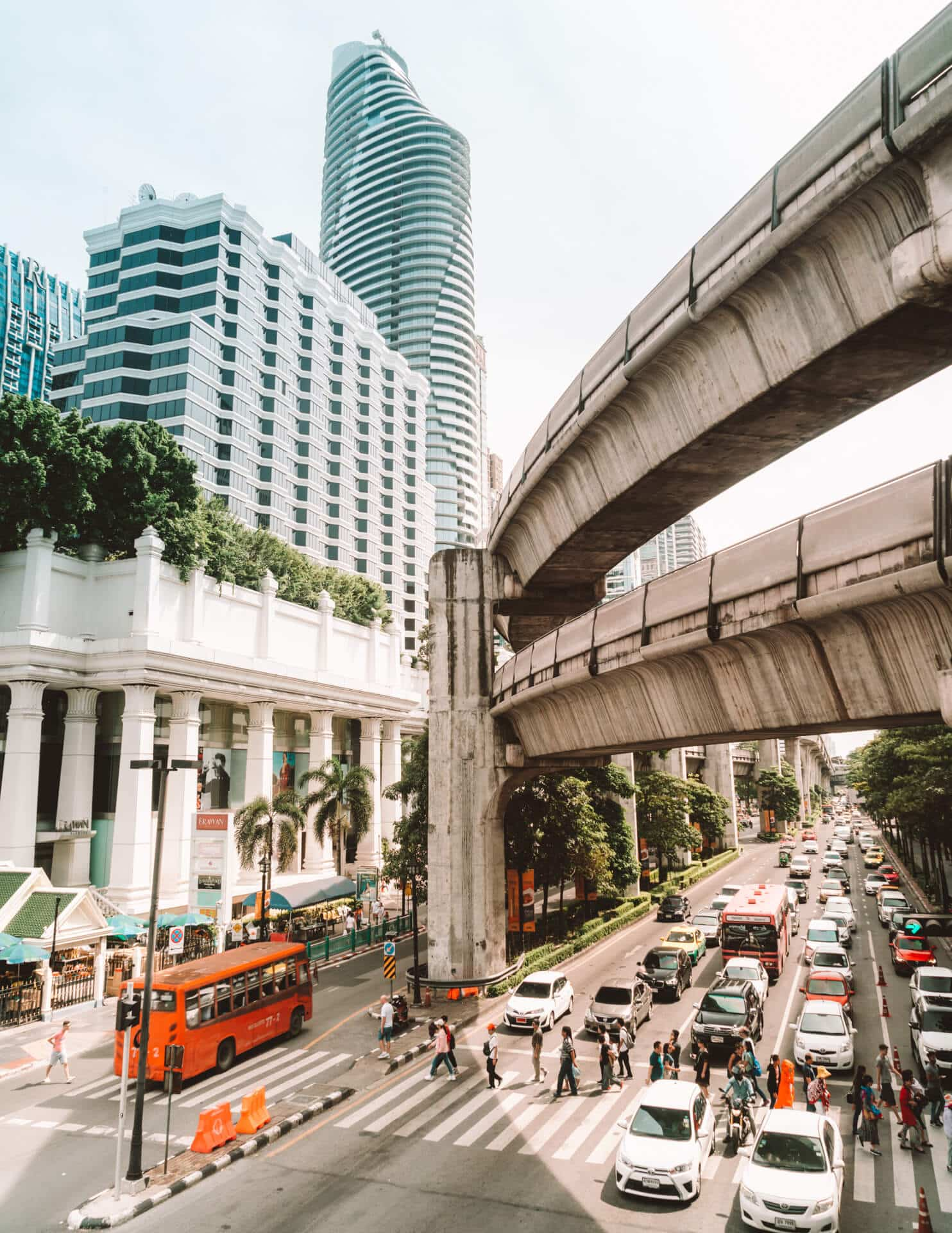 things to do bangkok street view