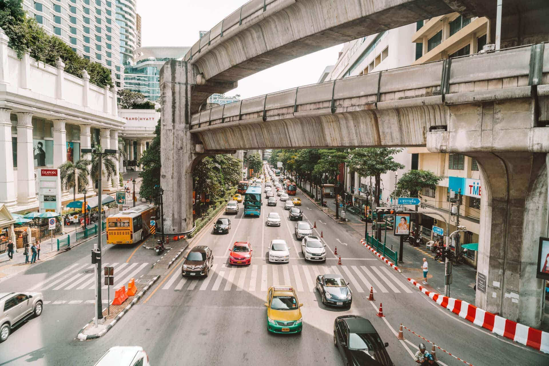 things to do bangkok traffic