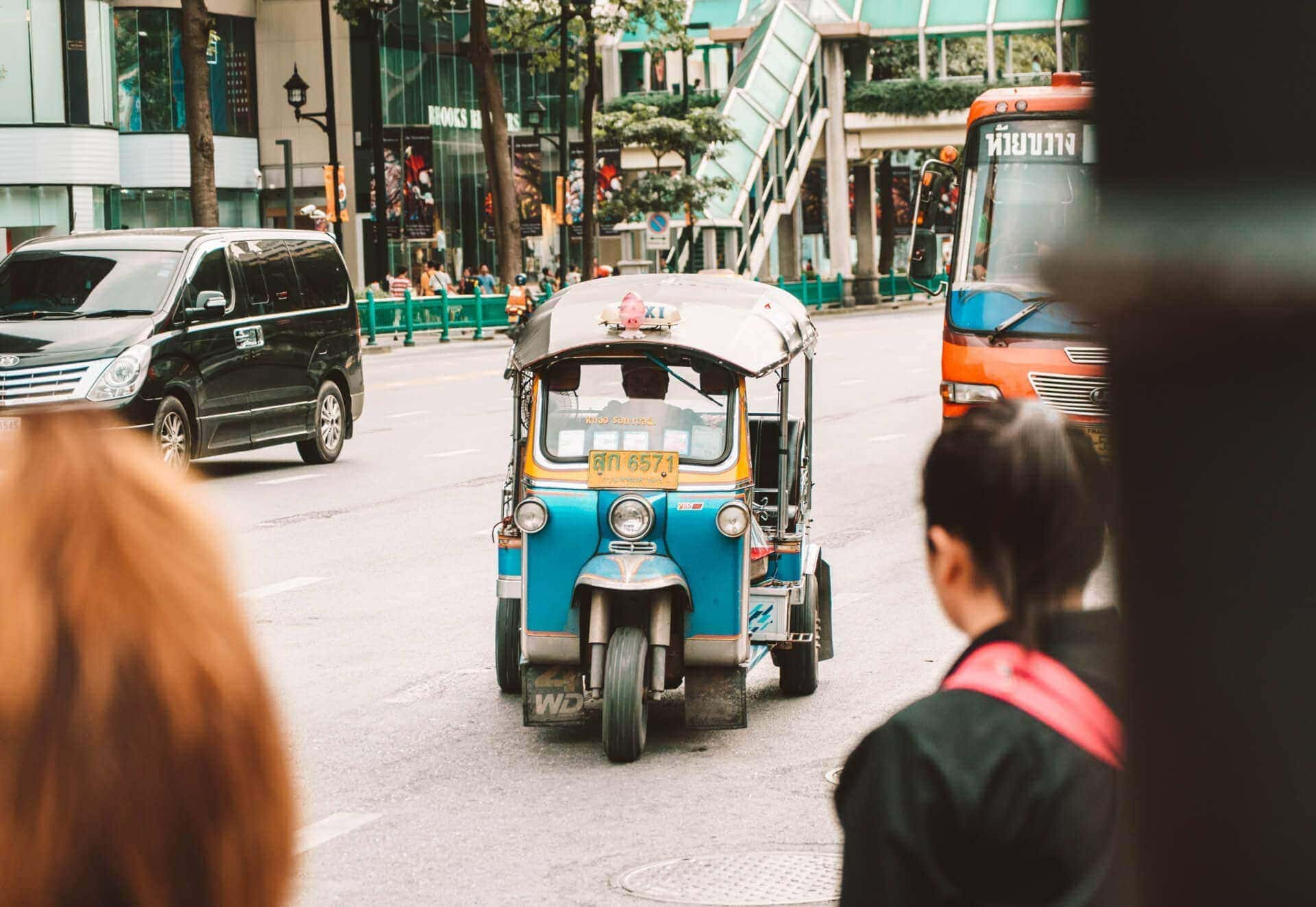 things to do bangkok tuktuk
