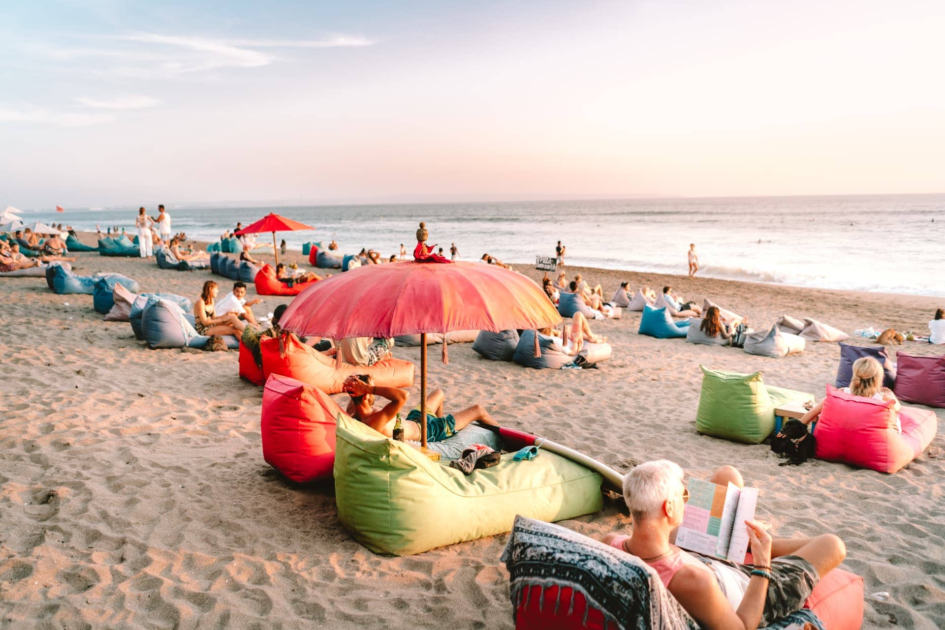 things to do canggu bali beach chill
