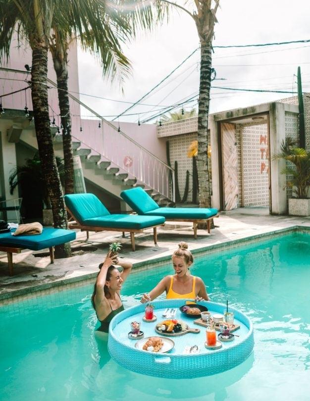 things to do canggu bali pool
